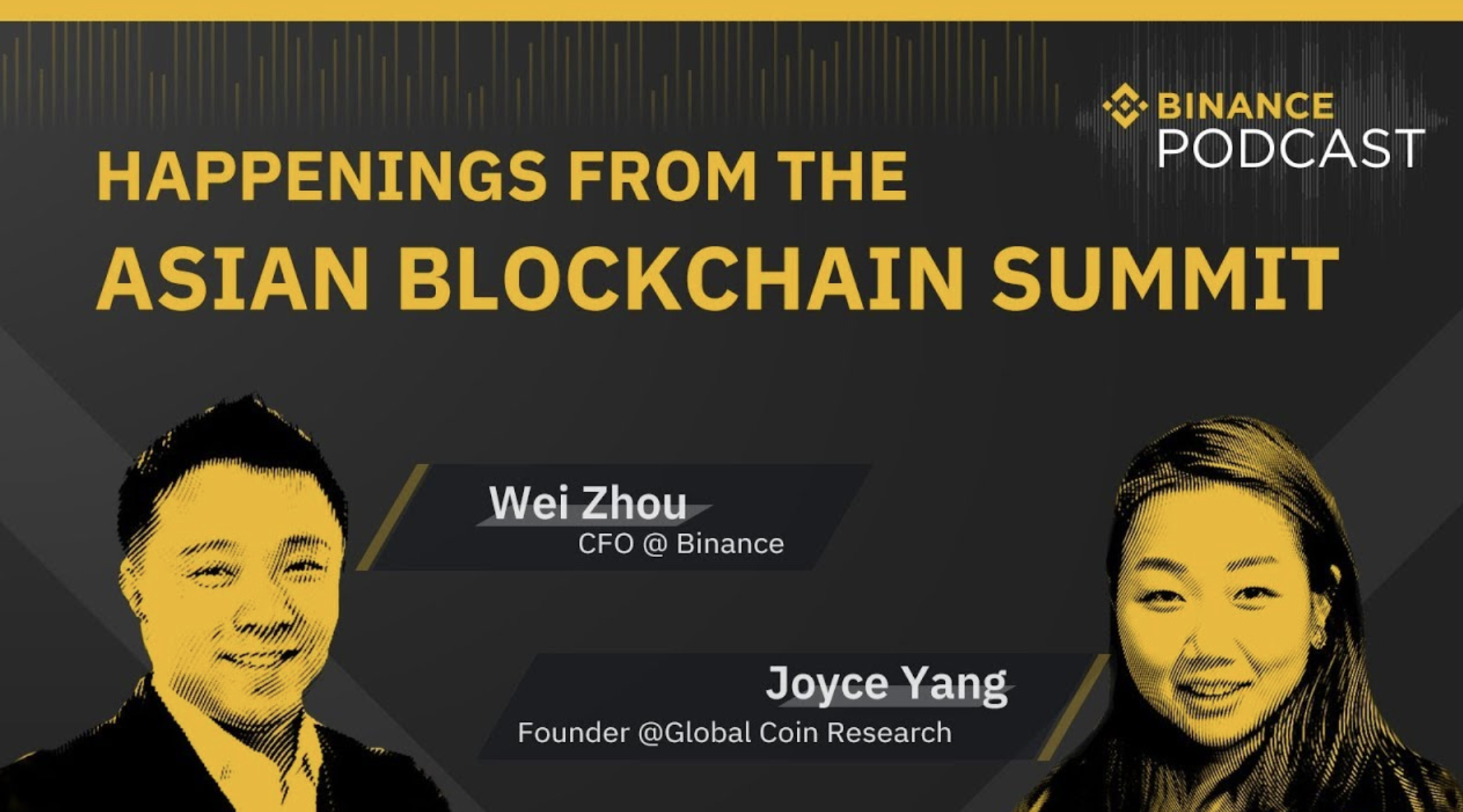 With CFO of Binance Wei Zhou on the Happenings from the